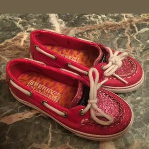 Sperry Top Sider Biscayne Girls Size 8